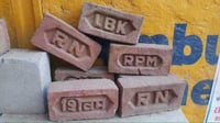 Fire Resistant Red Brick