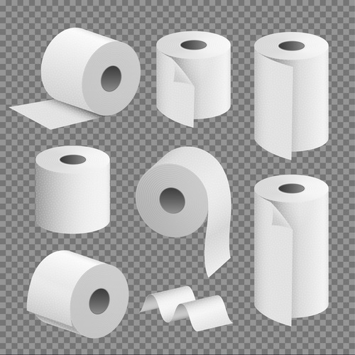 Disposable Toilet Paper Roll