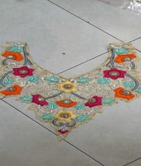 Handwork Neck Embroidery Lace
