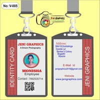 Office Employee Photo ID Cards