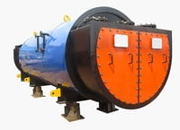 Automatic Exhaust Gas Boiler