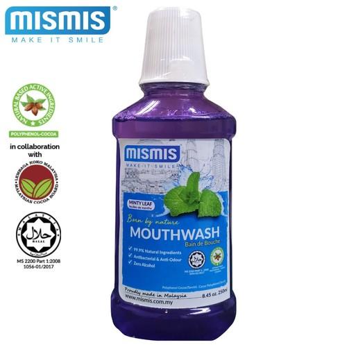 MISMIS Minty Leaf Natural Mouthwash