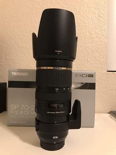 Nikon Tamron 70 to 200mm