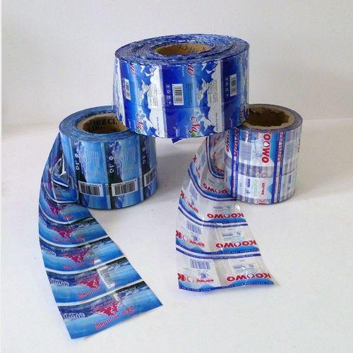 Custom Printed PVC Juice Bottle Labels