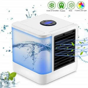 Portable Air Conditioner Mini Cooler Humidifier USB Fan Desktop Office And Home