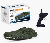 2.4g Crocodile Head 2 In 1 Remote Control Boat