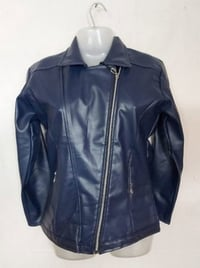 Girls Pu Leather Jackets