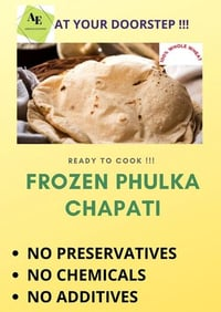 Ready To Cook Frozen Phulka Chapati