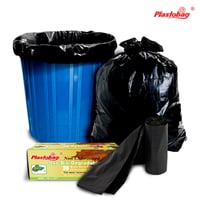 Black Colored Degradable Garbage Bags