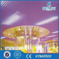 Customized Colorful Open Cell Grid Aluminum Ceiling