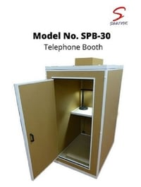Industrial Sound Proof Booth