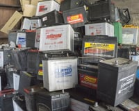 Waste Drained Battery Scrap
