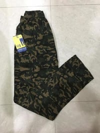 Anti-Wrinkle Military Printed Pants