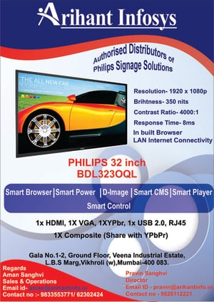LED Display With 3 Year Warranty