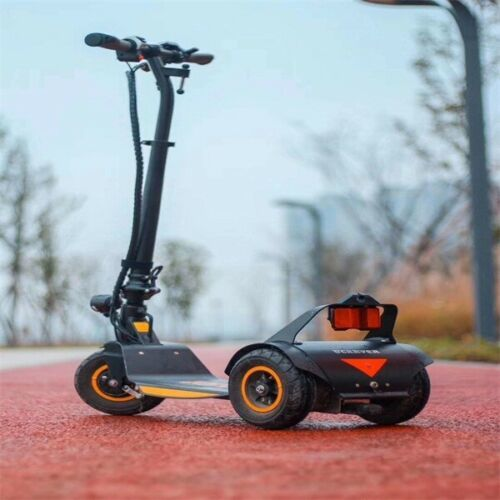 GreenSpeed 500W Lightweight Folding 3 Wheel Electric Trike Tricycle Scooter