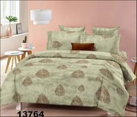 Geometrical Cotton Fitted Bed Sheet