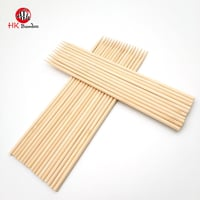 Round Bamboo Wood Skewer