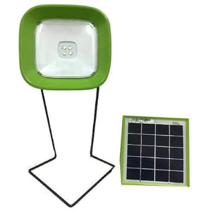 Solar Table Lamp with 1 Year Warranty