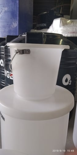 HDPE Bucket for Industrial Use