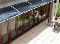 Polycarbonate Sheet Window Canopy