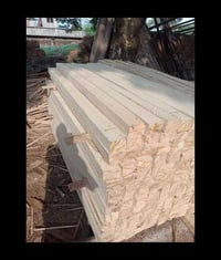 Rubber Wood Planks For Packaging and Pallet