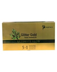 Glitter Gold Facial Kit