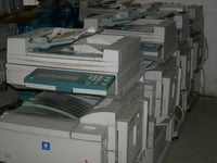 Used High Performance Copiers Machines