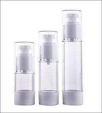 Airless Cosmetic Round Bottle