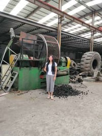 Durable Second Hand Used Two Shaft Shredder for Metal, Aluminum Scrap
