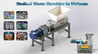 MSW Waste Garbage Crusher