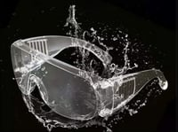 Eye Protection Transparent Safety Goggles