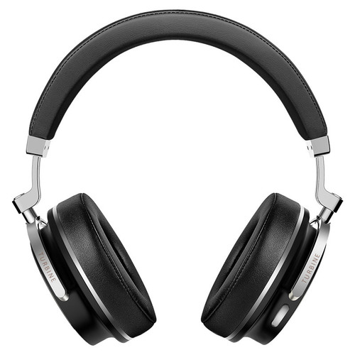 Black T4S Bluetooth Headphones With Microphone Anc