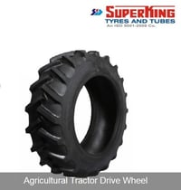 Drive Wheel for Agricultural Tractor