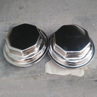 Chromed Axle Nut