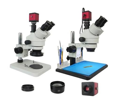 Efix 13MP Trinocular Stereo Soldering Microscope Stand Lens Digital Camera