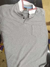 Mens Knitted Polo T Shirt