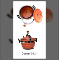 Red Clay Cooker 3L