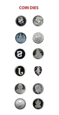customized Coining Dies