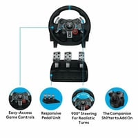 G29 Steering Wheel Of Racing For PS4, PS3 And PC Tech