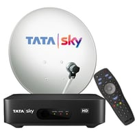 Tata Sky New DTH Connection with One Month Subscription Pack