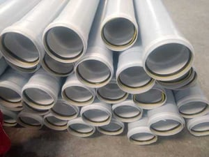 Industrial Round Plastic SWR Pipes