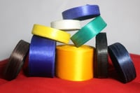 Satin Plain Coloured Ribbon