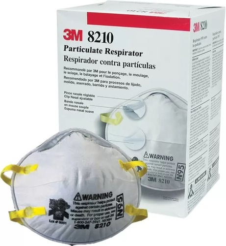 3M 8210 N95 Disposable Face Mask