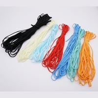 3mm Round Elastic Face Mask Cord