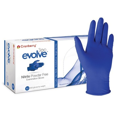 Cranberry Evolve 300 Powder Free Nitrile Gloves