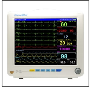 Easy to Operate Pulse Oximetry Monitor