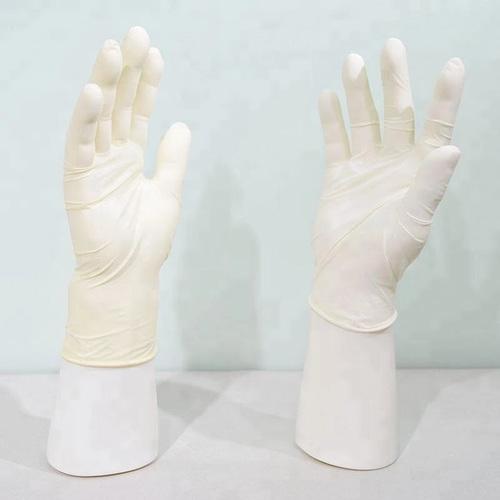 Full Finger Disposable Nitrile Examination Gloves