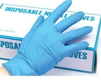 Latex Free Disposable Nitrile Gloves