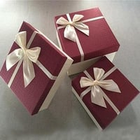 Paper Flocking Gifts Jewellery Boxes