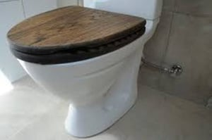 Wooden Toilet Seat Cover